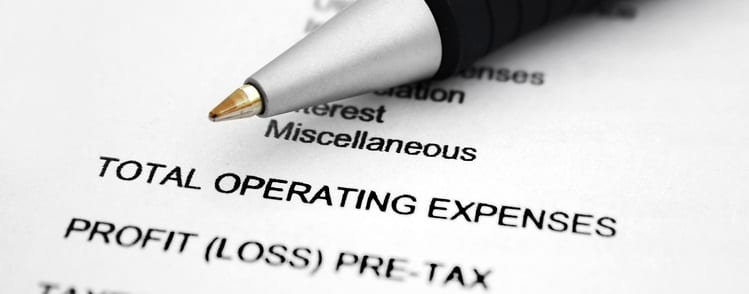 total operating expense vs total expenses